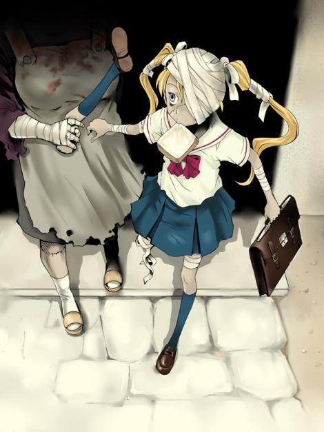 Zombie_SchoolGirl_by_tamaokibenkyo